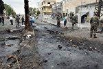 Разрушения в сирийском городе Хомс в результате боев с ИГ