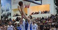 Матч между баскетбольными клубами Динамо Тбилиси и Кутаиси
