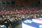 Учредительный съезд партии Движение за свободу – Европейская Грузия