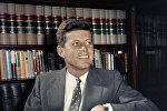 Президент США Джон Кеннеди в Вашингтоне