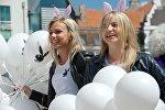 Парад блондинок в Риге, Латвия