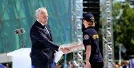 Глава МВД Грузии Георгий Мгебришвили поздравил полицейских с профессиональным праздником