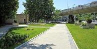 Новый сквер открылся в центре Тбилиси