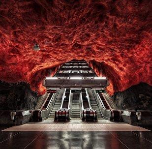 სტოკჰოლმის მეტრო, შვედეთი