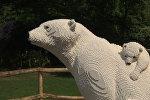 Животные из конструктора LEGO появились в бельгийском зоопарке