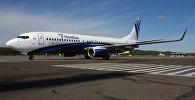 Самолет Боинг 737-800 авиакомпании NordStar
