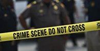 Полиция работает на месте трагедии в Орландо