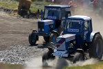 Гонки на тракторах  Bizon Track Show в Ростове-на-Дону