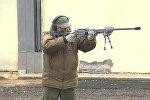 Испытания снайперской винтовки Точность в Подмосковье