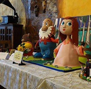 Впервые в Ереване прошел фестиваль торта