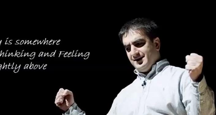 Андро Дгебуадзе спел произведение Баха