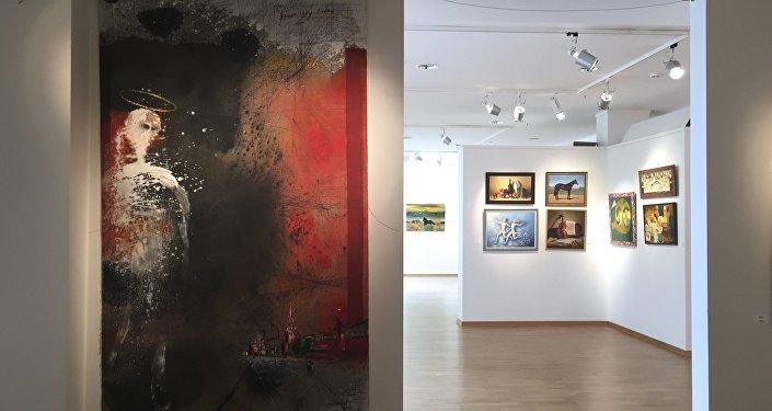 Выставка грузинских художников в Москве