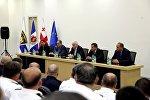 Глава МВД Грузии Георгий Мгебришвили провел совещание с сотрудниками департамента патрульной полиции