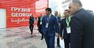 Министр энергетики Грузии Каха Каладзе на выставке EXPO 2017 в Астане