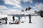 Высокогорный курорт в Сванети