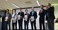 Победители Первой Европейской олимпиады школьников по физике