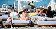 Черноморское побережье и пляж Батуми
