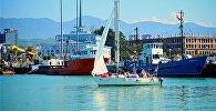 Черноморское побережье и порт Батуми