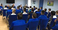 Представление главного тренера ФК Оренбург Темура Кецбая команде