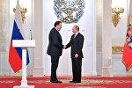 Амиран Ревишвили и Владимир Путин