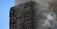 Пожар в жилом многоквартирном доме на западе Лондона