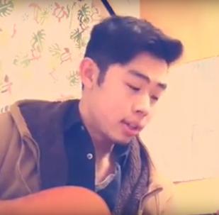 Студент из Японии запел на грузинском