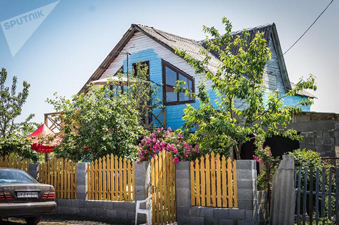 Деревянный дом Беки Габелия