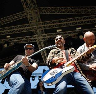 Группа Ленинград в Тбилиси