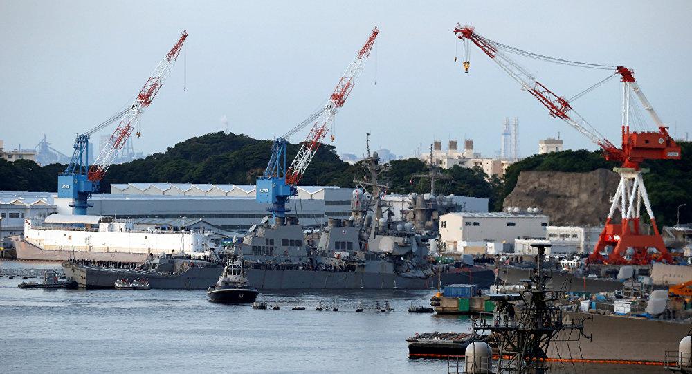 USS Fitzgerald-საესკადრო გემი