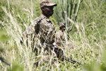 Военный патруль в Конго