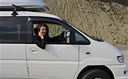 Екатерина Николаева путешествует по Грузии