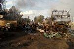Взрыв на АЗС в Кыргыстане