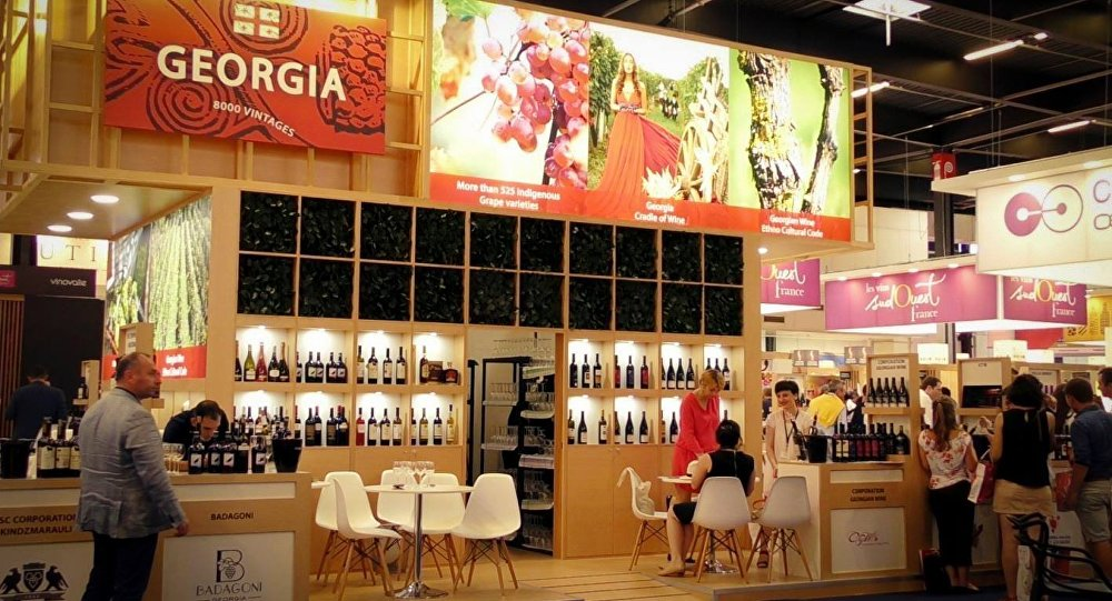 Экспозиция Грузии на Vinexpo Bordeaux 2017