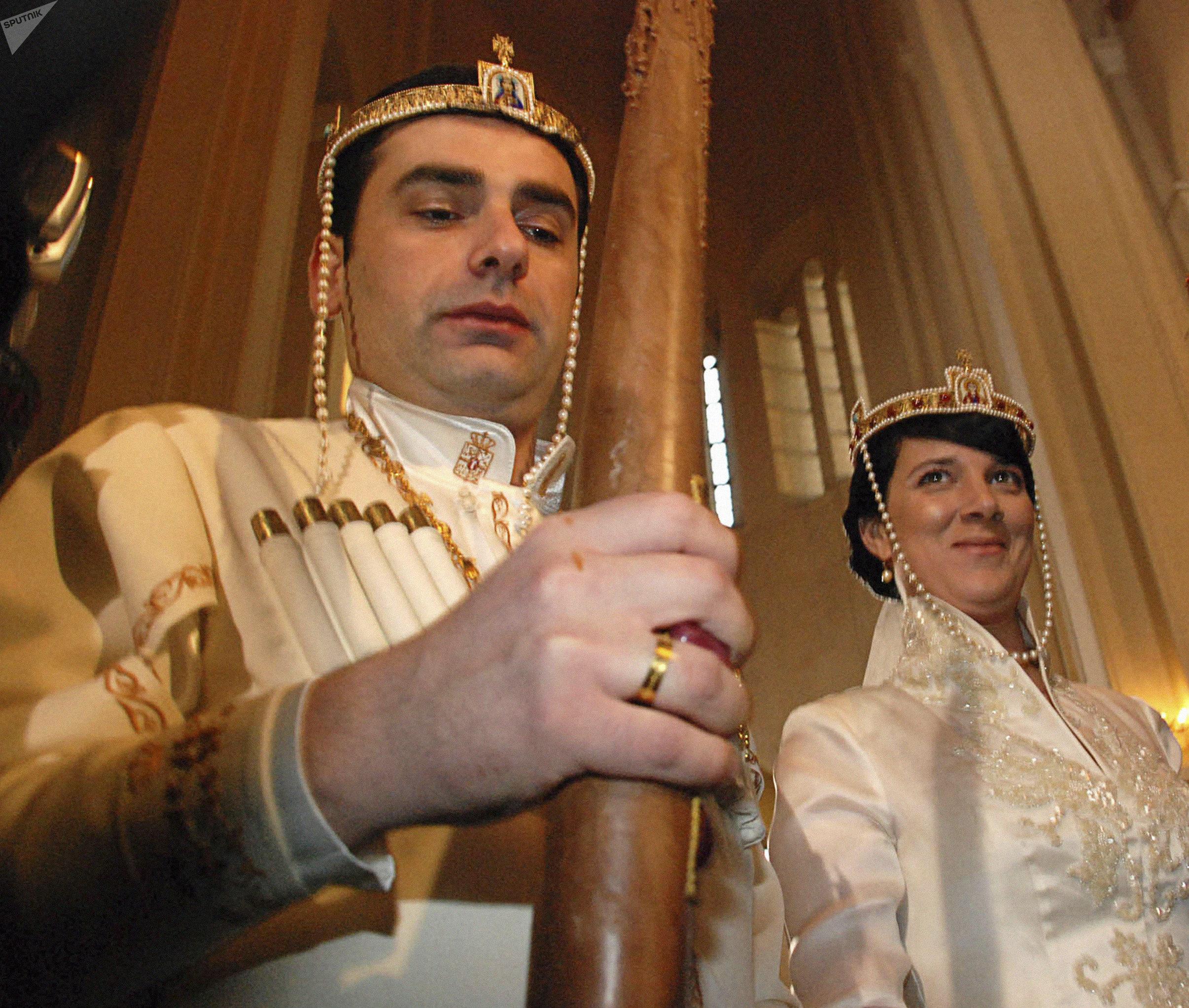 Свадьба наследников грузинской царской династии
