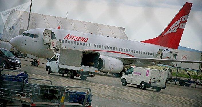 ავიაკომპანია Airzena-ს თვითმფრინავი
