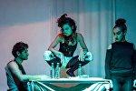 Перфоманс бакинского андеграундного театрального коллектива ADO Theatre - Collective (АДО Театр-Коллектив)