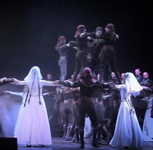 Яркие грузинские танцы: премьера новой программы ансамбля Аджарии