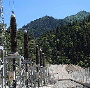 На территории самой крупной в Грузии Шуахеви ГЭС