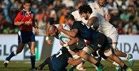 Сборная Грузии по регби проиграла в Аргентине