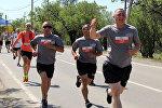 Марафон Тбилиси бежит для героев