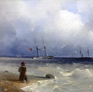 Картина Ивана Айвазовского Берег моря