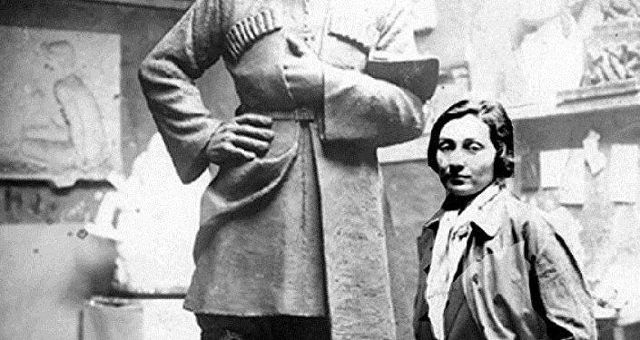 Скульптор Нино Церетели