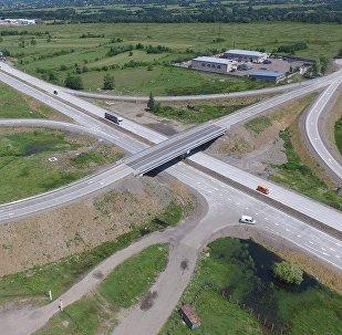 Открытие 15,2-километрового участка объездной дороги Кутаиси-Зестафони
