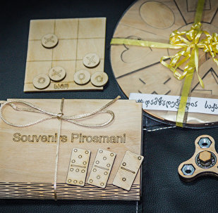Деревянные игрушки грузинского стартапа Саго