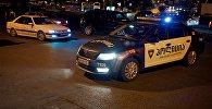საპატრულო პოლიცია დედაქალაქის ცენტრში