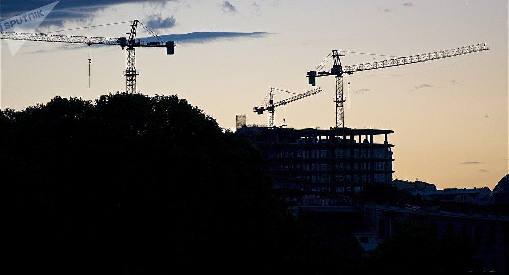 Строительство новых объектов в Тбилиси