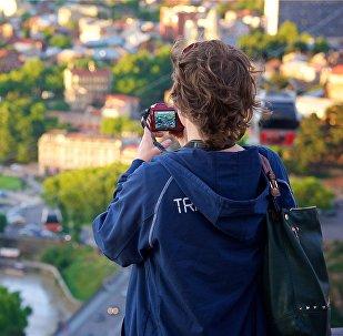 ტურისტი თბილისში