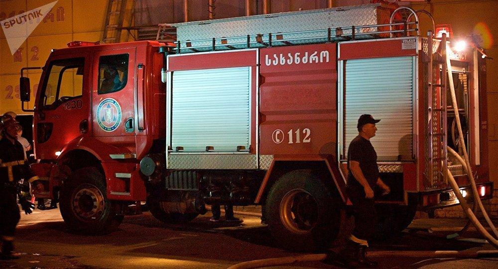 Как спасали Тбилиси отночного пожара