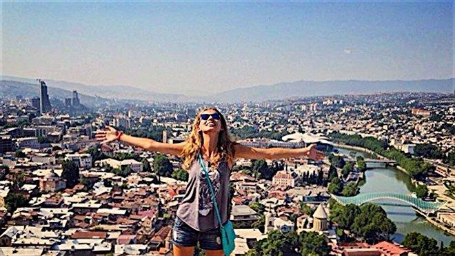 Анна Галлай в Тбилиси