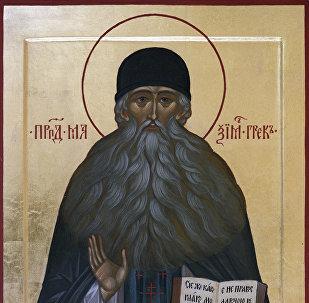 Икона Максима Грека